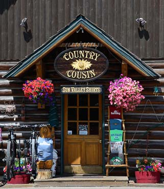 Boutique shops in Ketchum Idaho