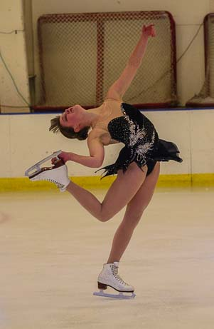 Figure skating competition in Sun Valley Idaho