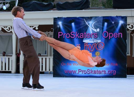 Skaters compete at ProSkaters Open competition in Sun Valley