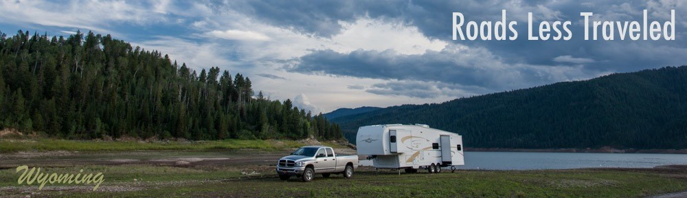 Fifth Wheel RV in Wyoming Alpine