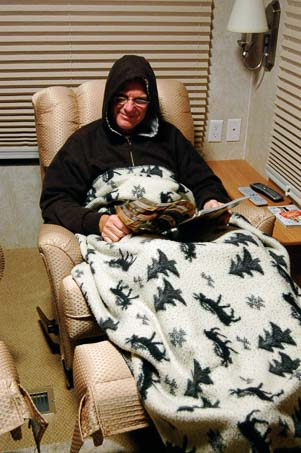 Living without heat in an RV