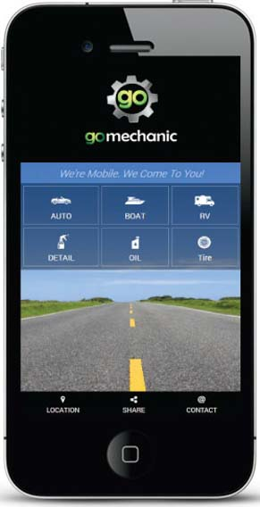 Go Mechanic Home Page