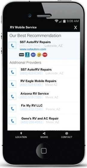 Go Mechanic Select a Mobile RV Service Provider