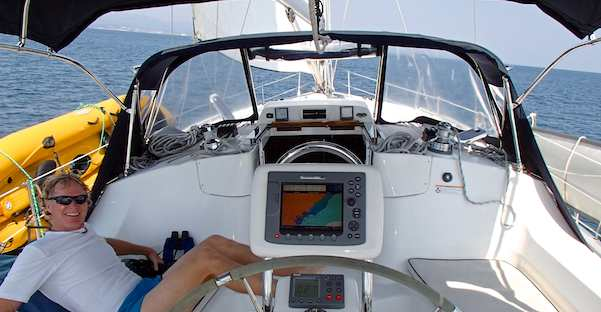 Sailing a Hunter 44DS in Mexico