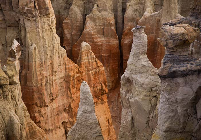 Hiking through red rock hoodoos and canyons in Arizona