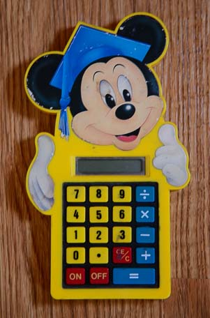 Mickey Mouse Calculator