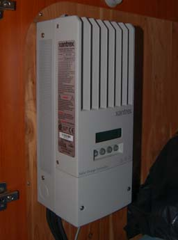 Xantrex XW MPPT 60-150 Solar Charge Controller in a sailboat