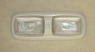 Double 12 volt light fixture