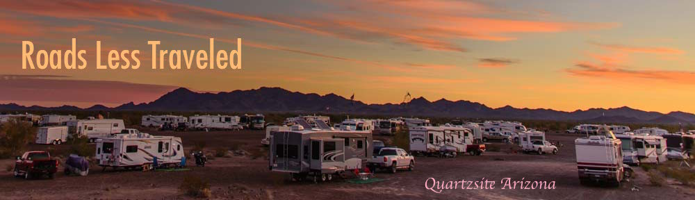 RV camping in Quartzsite Arizona