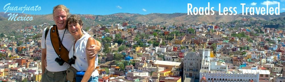 Guanajuato Mexico - colorful hillsides and rich history