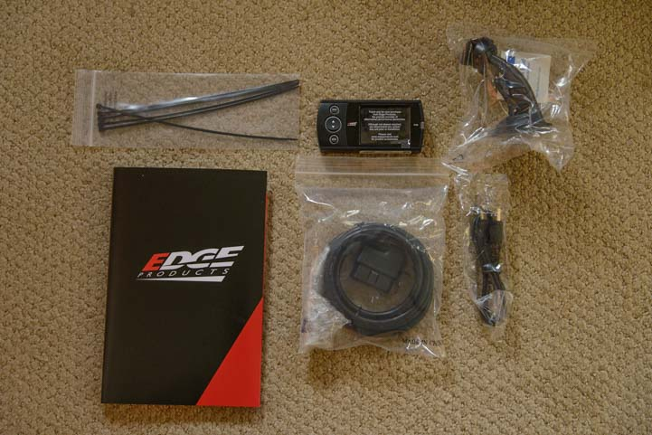 Edge Products Diesel Evolution Programmer Package Contents