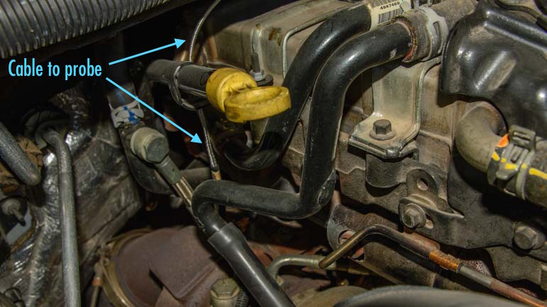 Edge Products Evolution Programmer Installed on a 2007 Dodge RAM 3500 truck