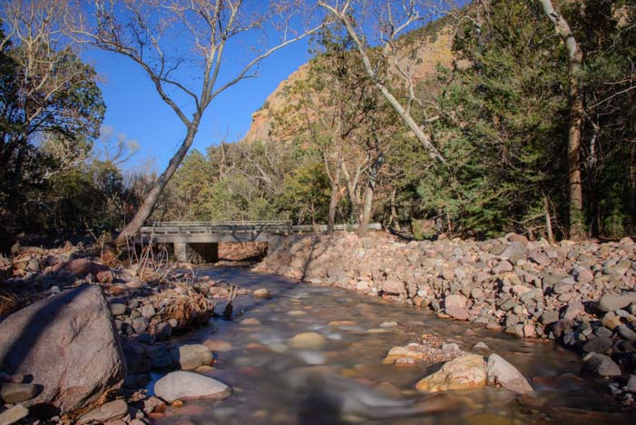 Cave Creek in the Chiricahua Mountains Arizona