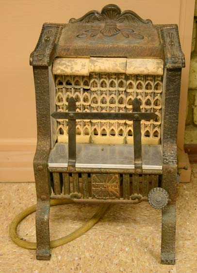 Antique gas heater