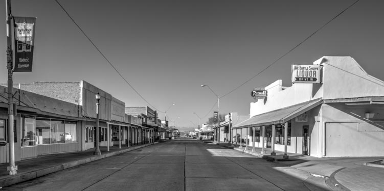 Florence Arizona historic main street