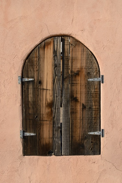 Mexican style Window in Big Bend Texas