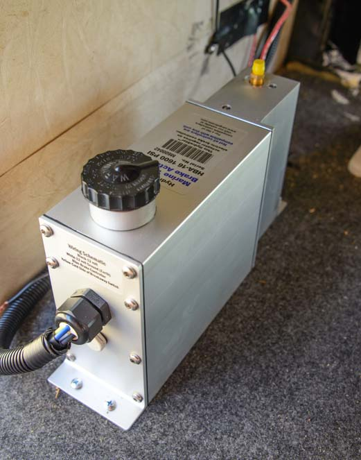 Hydrastar electric over hydraulic disc brake actuator from Cargo Towing Solutions