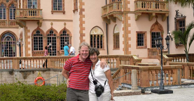 John and Mable Ringling Mansion Sarasota Florida