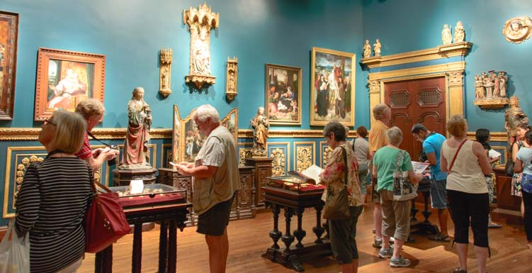 Inside the John and Mable Ringling Museum of Art Sarasota Florida