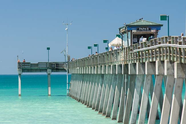 Venice Fishing Pier Florida