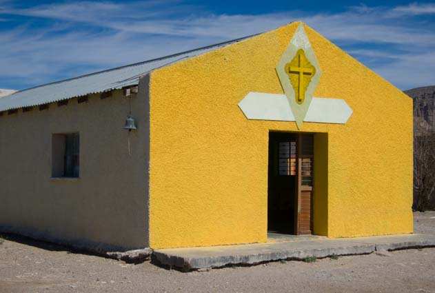 Church in Boquillas del Carmen Mexico