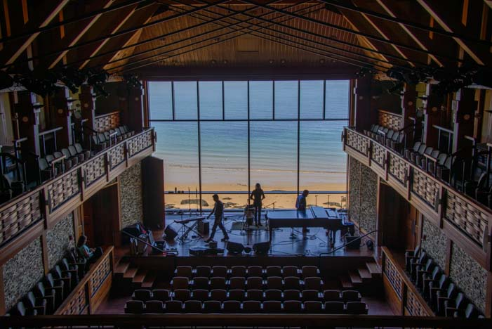 Shalin Liu Performance Center Concert Hall Rockport Massachusetts