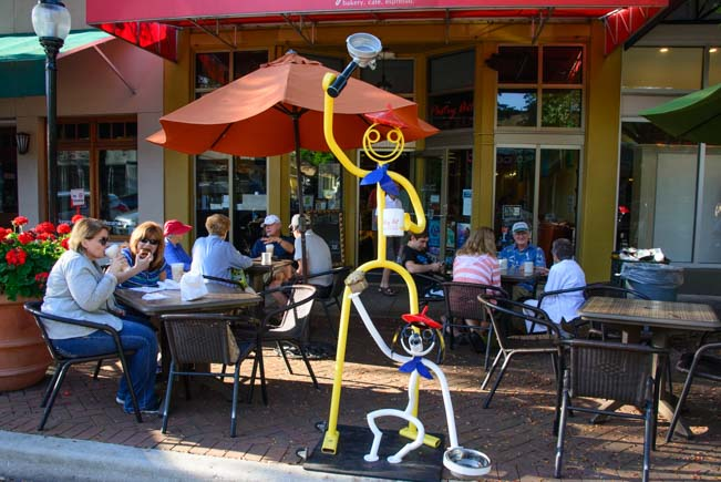 Tube Dude baker at Pastry Art Bakery in Sarasota Florida