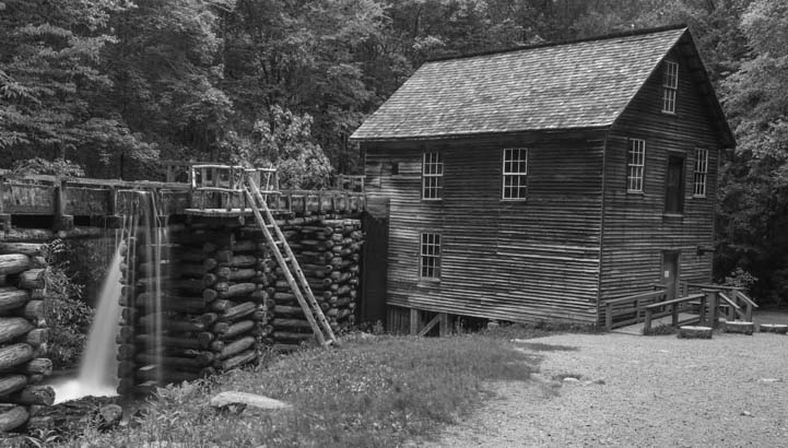 09b 721 Mingus Mill Great Smoky Mountains National Park North Carolina