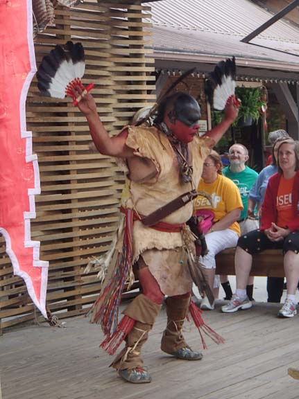 Indian Eagle Dance in Cherokee North Carolina