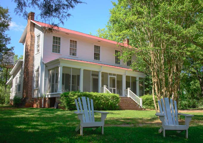 Flannery O'Connor Homestead Milledgeville Georgia