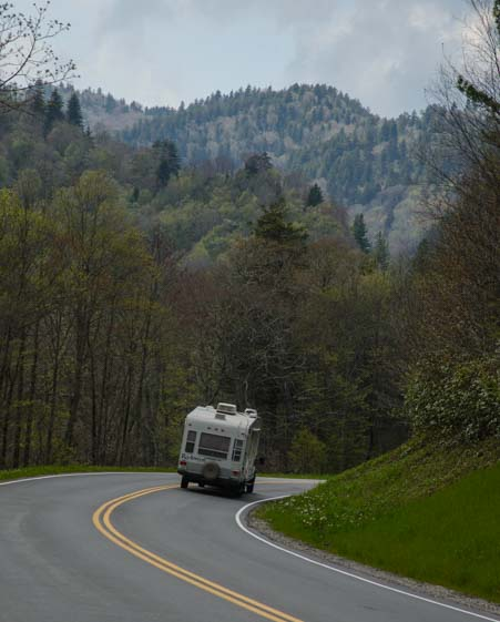 RV in Great Smoky Mountains National Park