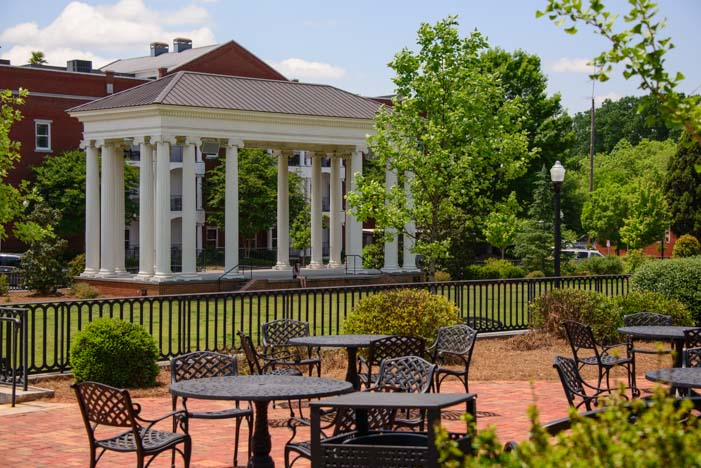 The Town Park in Madison Georgia