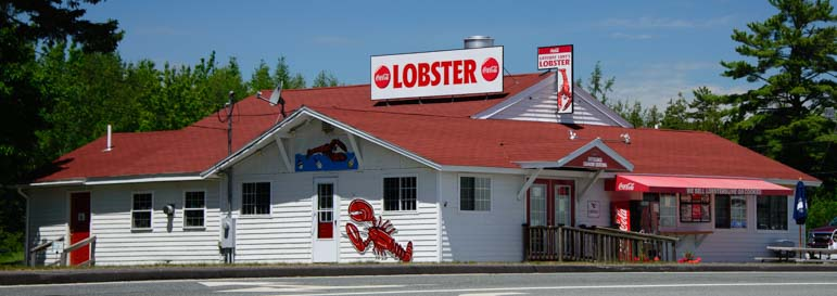 Lobster Shack Opposite Narrows Too RV Resort Mt Desert Island Maine