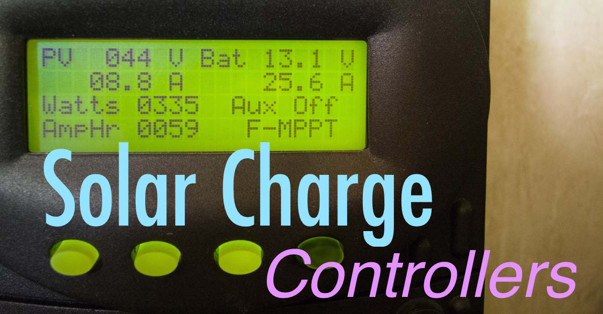 1200 Solar Charge Controllers and RV Battery Charging