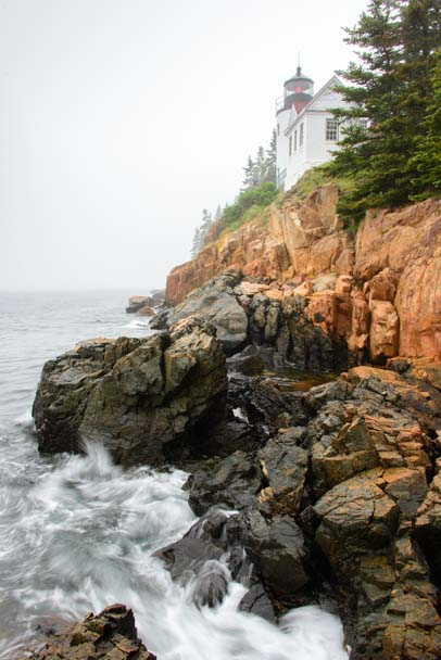 Bass Harbor Head Lighthouse Penobscot Bay Maine