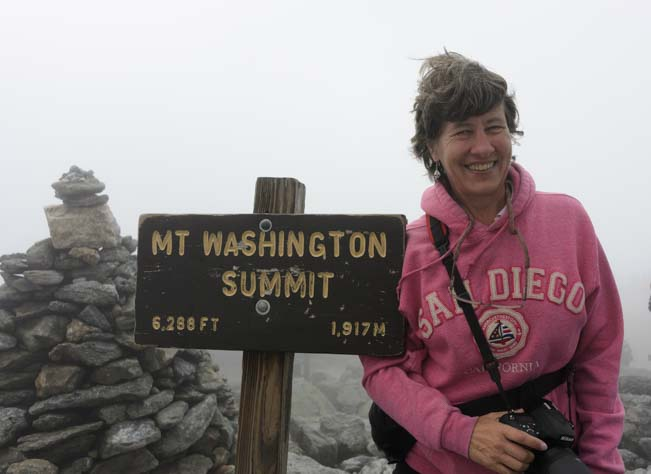 Mt Washington Summit
