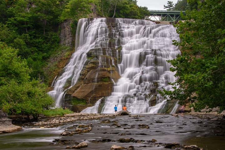 Ithaca Falls Natural Area New York Finger Lakes