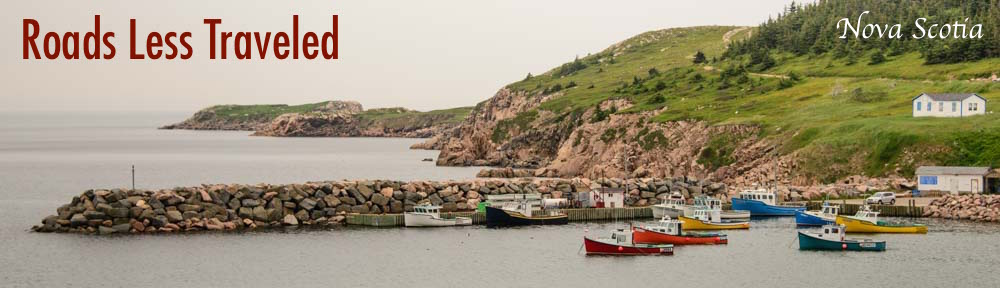 Nova Scotia White Point Harbor Cape Breton Island