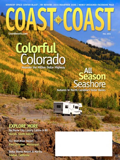 Coast to Coast Magazine Cover Fal 2015 Issue by Emily Fagan