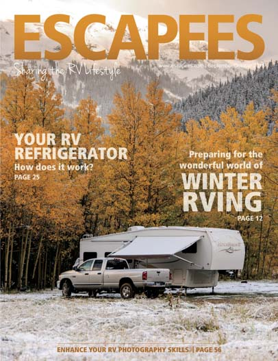 Escapees Magazine Cover Sep-Oct 2015
