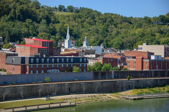 Maysville Kentucky sparkles in the morning sun