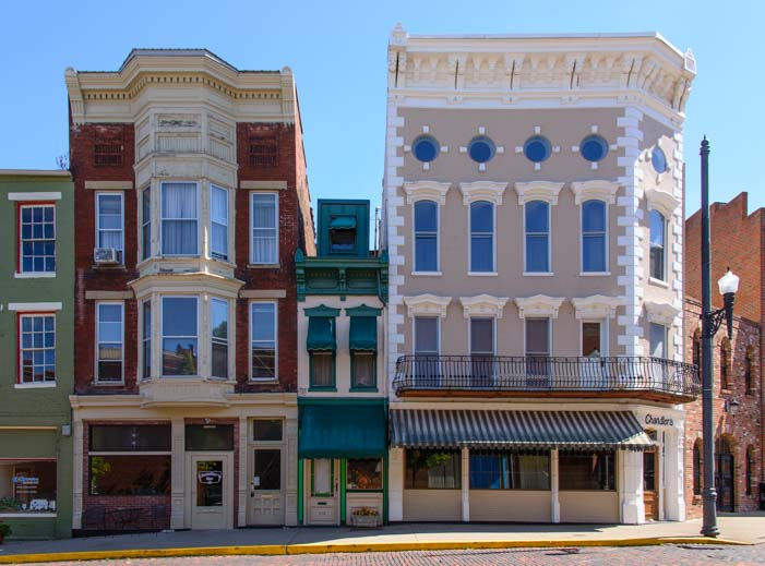 Historic buildings Market Street Maysville KY