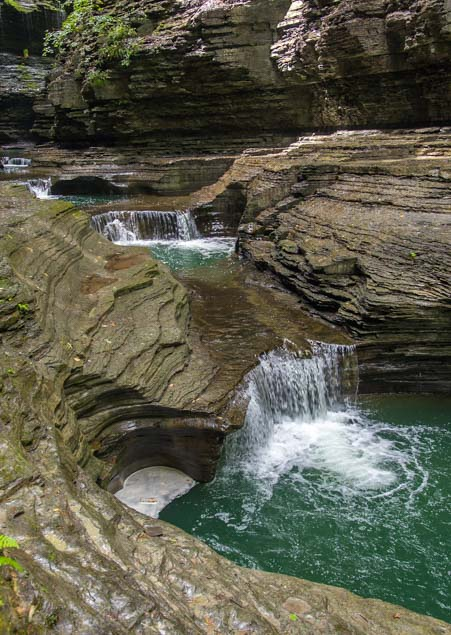 Waterfalls at Watkins Glen State Park New York