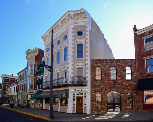 Historic Market Street Buildings Maysville Kentucky
