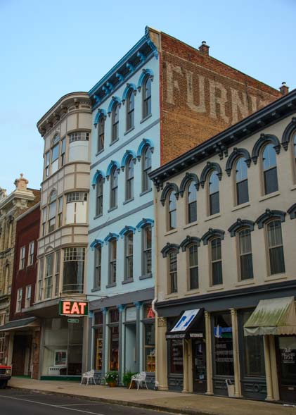 Historic downtown Maysville Kentucky
