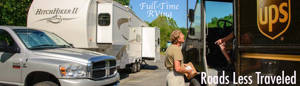 Full-time RVing Mail Domicile Insurance RV Extended Warranty