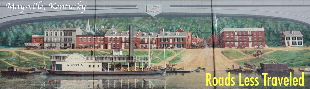 Maysville Kentucky Flood Wall Mural