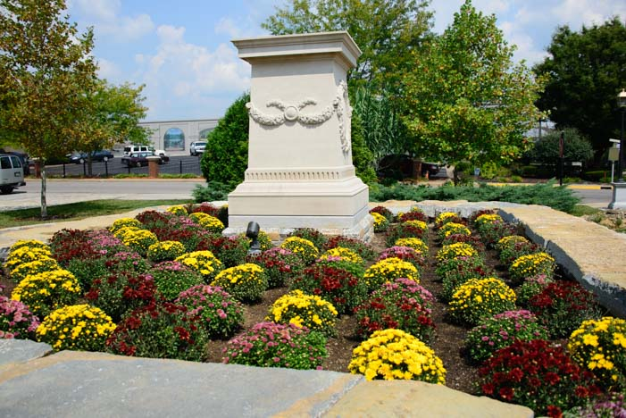 City Park flowers Maysville Kentucky
