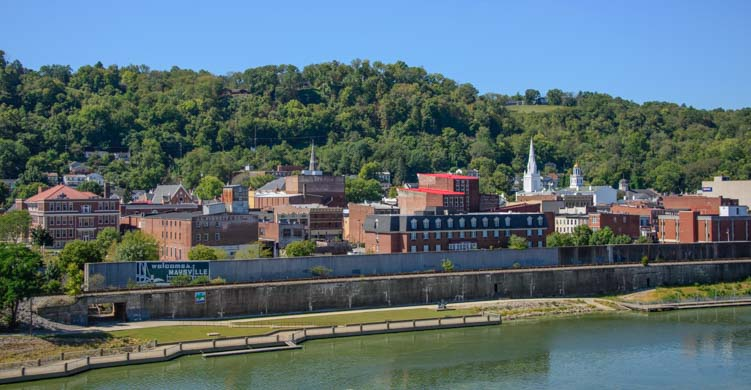 Maysville Kentucky Ohio River Flood Wall