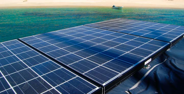 Effect of shade on solar panels installed on sailboat
